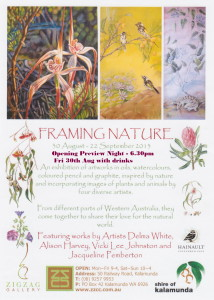 A5 Flyer Framing By Nature (1)